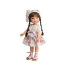 Кукла виниловая BERJUAN Fashion Girl Trenzas, 35см