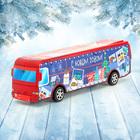Автобус инерционный «С Новым Годом»