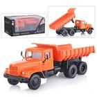 Машина металлическая ««KRAZ-256B. Мимино», цвет оранжевый