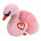 Мягкая игрушка «Лебедь Odette», цвет розовый, 15 см