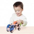 Деревянная игрушка Miniworld «Мини трейлер»