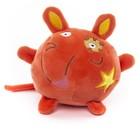 Мягкая игрушка Button Blue «Мышка», оранжевая, 10 см