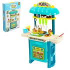 Игровой модуль «Сладкий магазинчик», с продуктами на липучках