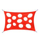 """Развлекательная игра """"Сыр-паутинка"""", размер 100 × 150 см, цвет красный"""