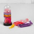 """Набор """"Слим с блёстками и игрушкой своими руками"""", цвет перламутровый красный"""