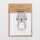 Игрушка для детей «Мягкий котик» , набор для шитья, 14.8 × 27 см