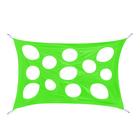 """Развлекательная игра """"Сыр-паутинка"""", размер 100 × 150 см, цвет зелёный"""