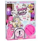 Игровой набор Capsule Chix, с двумя куклами