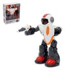 Робот интерактивный «Воин», световые и звуковые эффекты, работает от батареек, цвета МИКС