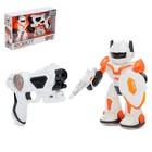 Робот «Бой с роботом», световые и звуковые эффекты, работает от батареек