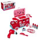 Игровой набор «Парикмахер для принцесс», в машинке
