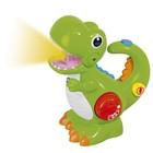 Игрушка музыкальная Chicco «Динозавр», от 2 лет