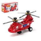"""Вертолёт """"Пассажирский"""", работает от батареек, световые и звуковые эффект"""