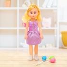Кукла «Даша» в платье, с аксессуаром, цвета МИКС