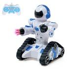 Робот радиоуправляемый «Танкобот», световые и звуковые эффекты, работает от аккумулятора