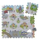 Игровой коврик-пазл Chicco «Город», от 12 месяцев