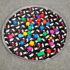 Сумка-мешок для игрушек  Новогодний, диаметр 1,2  МИКС