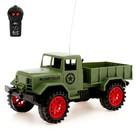 Грузовик радиоуправляемый «Военный», работает от батареек, МИКС