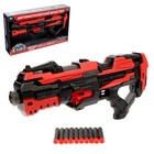 Автоматический бластер ROTOR GUN, стреляет мягкими пулями, работает от батареек