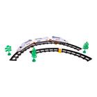 """Железная дорога """"Скоростной электропоезд"""", световые эффекты, 27 дет.в ПАКЕТЕ"""