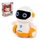 """Робот """"Бади"""", ездит по линии, световые эффекты, работает от батареек"""