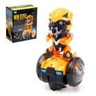 """Робот """"Танцующий автобот"""", световые и звуковые эффекты, работает от батареек"""