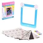 Планшет для рисования 3D «Зайка», с ручками, карточками, стиралкой, цвет МИКС