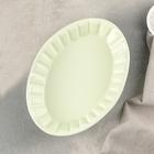 """Блюдо для запекания """"Лора"""" 22,5х16,5х5 см, цвет зеленый"""