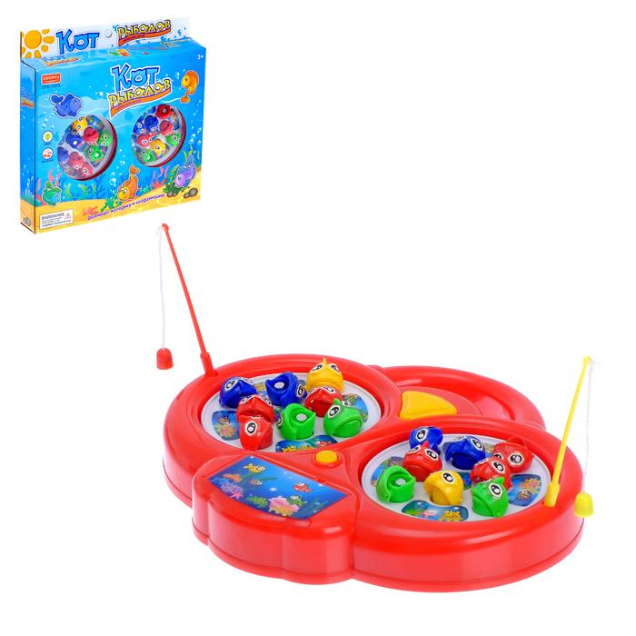 игрушка кот рыболов