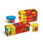 Пластилин мягкий 4цв 100г GIOTTO be-be Super Modelling Dough 464901