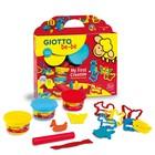 Масса для лепки 3цв 100г + инструменты GIOTTO be-be Super Modelling Dough set 462900