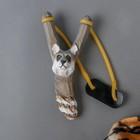 Игрушка деревянная «Рогатка с животным» 5х8,5х18,5 см