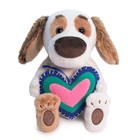 Мягкая игрушка «Бартоломей BABY с сердечком из флиса», 20 см