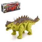 Динозавр «Стегозавр» работает от батареек, световые и звуковые эффекты, МИКС