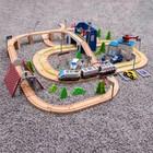 Железная дорога 149 деталей, 13×60×42,5 см