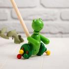 Детская каталка на палочке «Животные с лапками» 8×11×50, МИКС