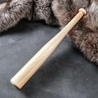 """Бита """"Игровая""""деревянная, тип 2,  массив дуба, 50 см"""