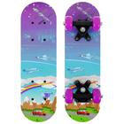 Скейтборд детский «Техно» 44 × 14 см, колёса PVC 50 мм, пластиковая рама