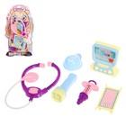 Игровой набор «Детский доктор», на блистере, цвет МИКС
