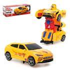 Робот-трансформер «Автобот», световые и звуковые эффекты, работает от батареек, цвета МИКС
