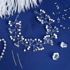 "Аксессуар для волос ""Герда"" кристаллик, 31,5х3,5 см"