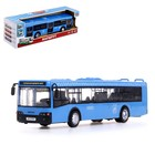 Автобус инерционный «Городской», масштаб 1:43, световые и звуковые эффекты
