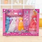 Кукла модель «Анна» с набором платьев, МИКС