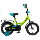 """Велосипед 12"""" Novatrack Vector, 2020, цвет салатовый"""