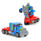 """Робот-трансформер """"Прайм"""", световые и звуковые эффекты, работает от бат, в ПАКЕТЕ"""