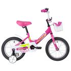 """Велосипед 14"""" Novatrack Twist, 2020, цвет розовый"""