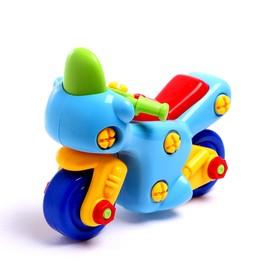 Конструктор для малышей «Мотоцикл», 27 деталей