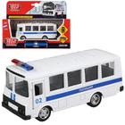 Автобус металлический инерционный «ПАЗ. Полиция», двери открываются