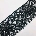 Кружево вязаное, 10,5 см, цвет чёрный