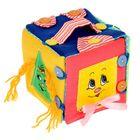 """М/ягкая игрушка """"Развивающий Куб-сумка"""""""
